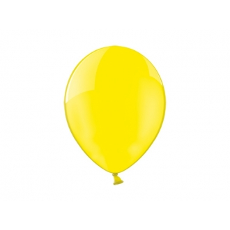 "Balony 12"", Crystal Yellow, 1op."