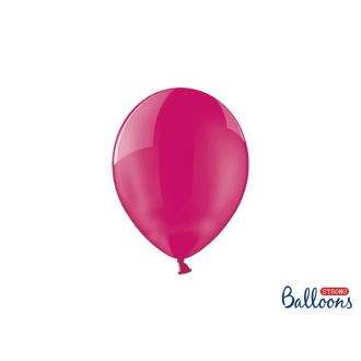Balony Strong 23cm, Crystal Hot Pink, 100szt.