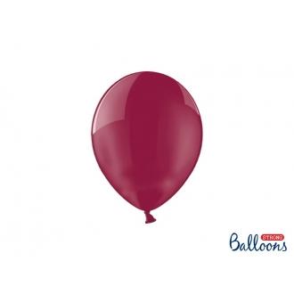 Balony Strong 23cm, Crystal Maroon, 100szt.
