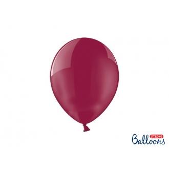 Balony Strong 27cm, Crystal Maroon, 100szt.