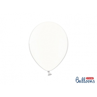 Balony Strong 27cm, Crystal Clear, 100szt.