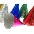 Czapeczki holograficzne, mix, 10cm, 1op.