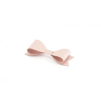 Dekoracje papierowe Kokardki, pudrowy róż, 1op.