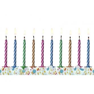 Świeczki urodzinowe Magiczne, mix, 1op.