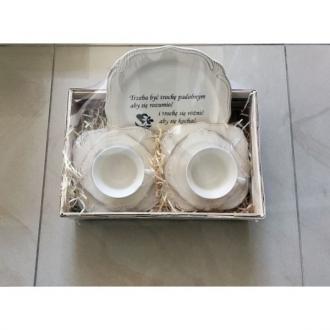 Duży zestaw ceramiczny 2/7 TRZEBA BYĆ