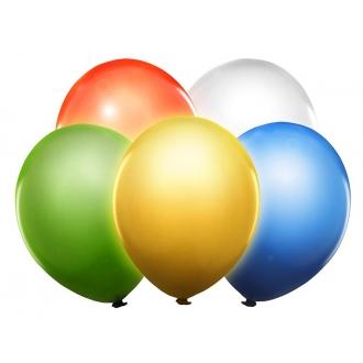 """Balony Led 12"""", mix, 5szt."""