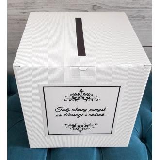 Pudełko na koperty i prezenty, 24 x 24 x 24cm, 1szt.