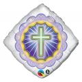 "Balon foliowy 18"" QL SQR ""Illuminated Cross"""