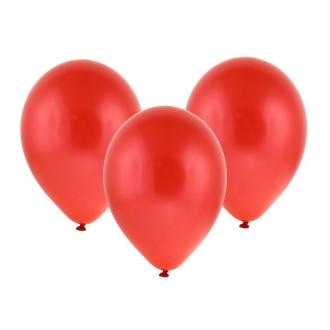 """Balon metaliczny 12"""" """"Bronisze"""" / czerwony, 100 szt."""