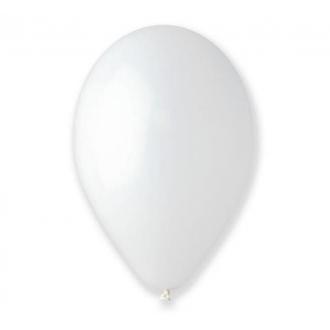 """Balony pastelowe 10"""" Bronisze / białe, 100 szt."""