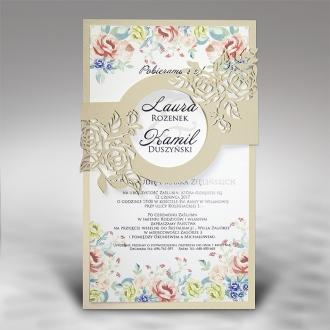 Zaproszenia Ślubne F5412