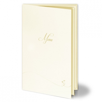 Menu Ślubne z Złotymi Małymi Serduszkami m1fm1056tz