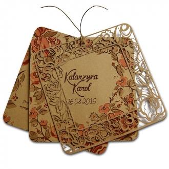 Zaproszenia Ślubne F1295