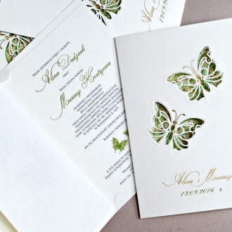 Zaproszenia Ślubne F1239