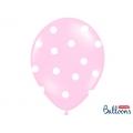 Balony 30cm, Słonik, Pastel Pink Mix, 50szt.