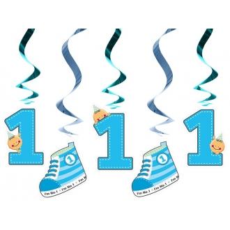 Świderki I'm No. 1, niebieski, 60cm, 1op.