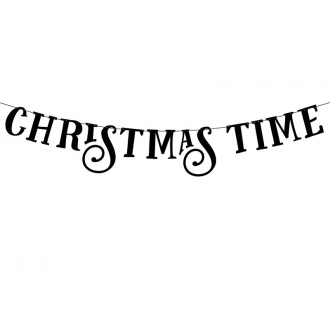 Baner Christmas Time, 14 x 80cm, 1szt.