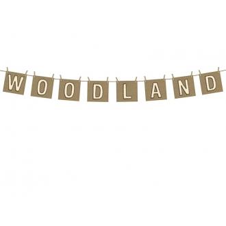 Baner Woodland, 10 x 115cm, 1szt.
