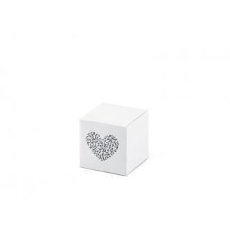 Pudełeczka z ornamentowym sercem, 1op.