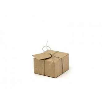 Pudełeczka z zawieszkami, 6x5,5x3,5cm (1 op. / 10 szt.)
