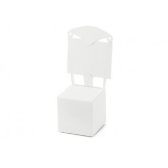 Pudełeczka Krzesełko, biały, 1op.