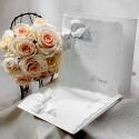 Zaproszenia Ślubne z Ornamentem Kwiatowym TB9012