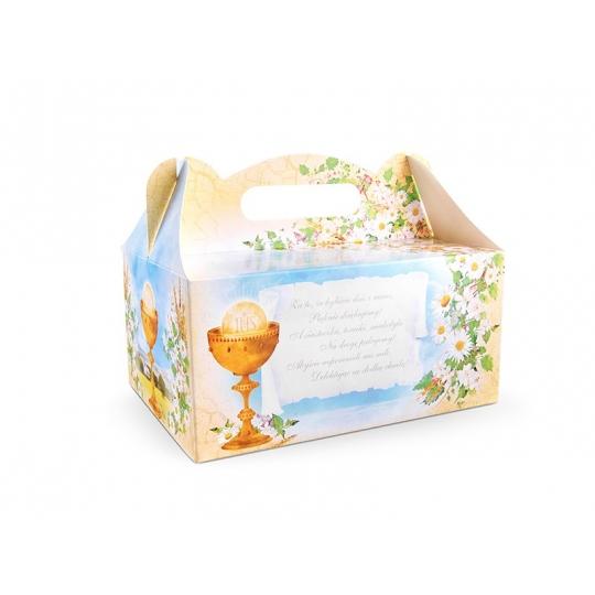 Ozdobne pudełka na ciasto komunijne, 1op.