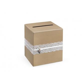Pudełko na telegramy, 24 x 24 x 24cm, 1szt.