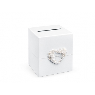 Pudełko na koperty z pieniędzmi, 24 x 24 x 24cm, 1szt.
