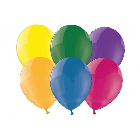 """Balony 10"""", Crystal Mix, 1op."""