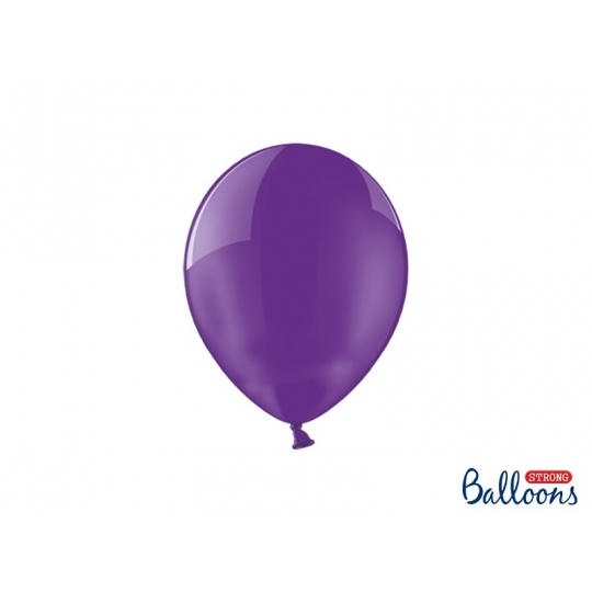 Balony Strong 23cm, Crystal Violet, 100szt.