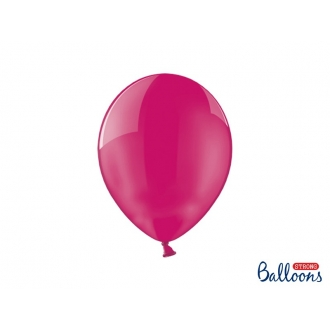 Balony Strong 27cm, Crystal Hot Pink, 100szt.