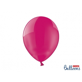 Balony Strong 30cm, Crystal Hot Pink, 100szt.