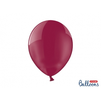 Balony Strong 30cm, Crystal Maroon, 100szt.