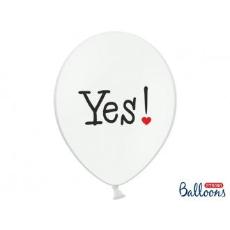 Balony 30cm, Will you..., Pastel P. White, 50szt.