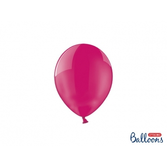 Balony Strong 12cm, Crystal Hot Pink, 100szt.