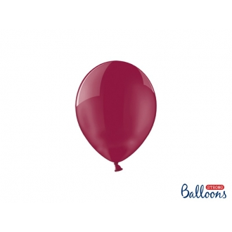 Balony Strong 12cm, Crystal Maroon, 100szt.
