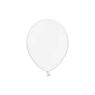 Balony 12'', Pastel White (1 op. / 100 szt.)