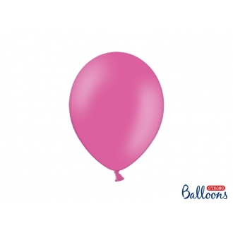 Balony Strong 27cm, Pastel Hot Pink, 100szt.