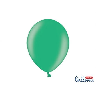 Balony Strong 30cm, Metallic Malachit, 10szt.