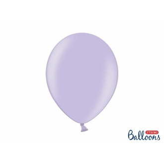 Balony Strong 30cm, Metallic Wisteria, 100szt.