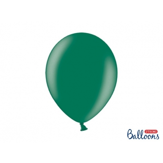 Balony Strong 30cm, Metallic Bottle Green, 100szt.