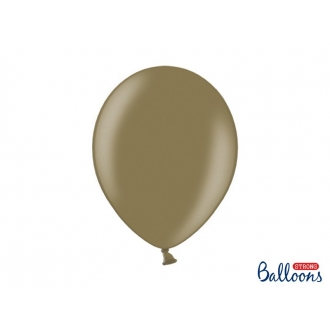 Balony Strong 30cm, Metallic Cappuccino, 10szt.