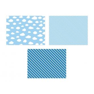 Podkładki papierowe, mix, 40 x 30 cm, 1op.