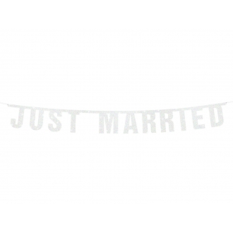 Baner Just Married, 18 x 170cm, 1szt.