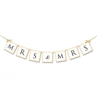 Baner MRS & MRS, 90cm, 1szt.