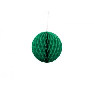 Kula bibułowa, sz. zielony, 10cm, 1szt.