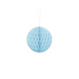Kula bibułowa, j. błękit, 10cm, 1szt.