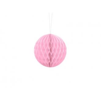 Kula bibułowa, j. różowy, 10cm, 1szt.