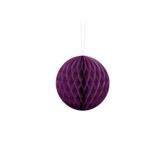 Kula bibułowa, c. winogron, 10cm, 1szt.